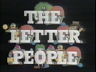 Come and meet The Letter People.